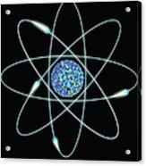 Atom Acrylic Print