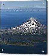 Augustine Volcano Cook Inlet Alaska Acrylic Print