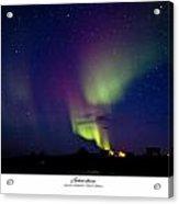 Aurora Australis Acrylic Print by David Barringhaus