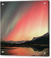 Aurora Borealis Northern Lights Acrylic Print