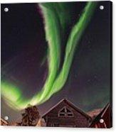 Aurora Borealis, Norway Acrylic Print