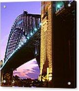 Australia, Sydney, Harbor Bridge Acrylic Print
