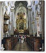 Austria. Krems. G�ttweig Abbey. Church Acrylic Print