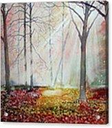 Autumn Extravaganza Acrylic Print