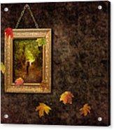 Autumn Frame Acrylic Print