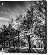 Autumn In London Acrylic Print