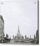 Ayutthaya Acrylic Print