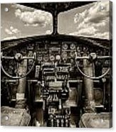 Cockpit Of A B-17 Acrylic Print