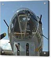 B-17 Nose Acrylic Print