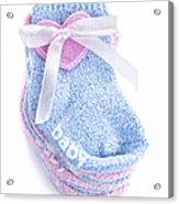 Baby Socks Acrylic Print