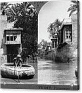Baghdad Tigris, C1914 Acrylic Print
