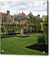 Bakewell Country Gardens - Bakewell Town - Peak District - England Acrylic Print