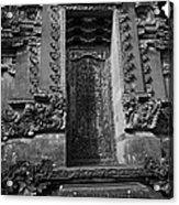 Balinese Hindu Temple Acrylic Print