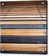 Bamboo Mat Texture Acrylic Print