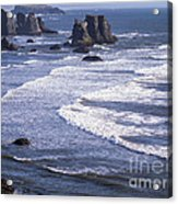 Bandon Beach Seastacks 4 Acrylic Print