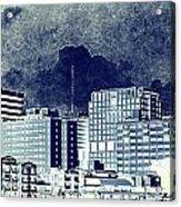 Bangkok Panorama Acrylic Print
