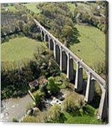 Barbin Sèvre Viaduct, Saint Laurent Acrylic Print