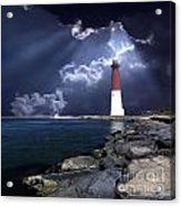 Barnegat Inlet Lighthouse Nj Acrylic Print