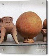 Barriles Indian Art Acrylic Print