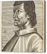 Bartolommeo De Sacchi Known Acrylic Print
