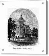 Barton Academy - Mobile Alabama Acrylic Print
