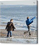 Barton On Sea Tyler And Harvey Acrylic Print