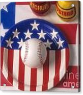 Baseball Dinner Acrylic Print
