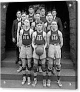 Basketball Team, 1920 Acrylic Print