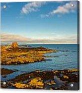 Bass Rock From Dunbar Acrylic Print