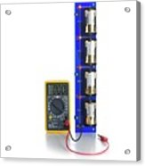 Battery Test Circuit Acrylic Print