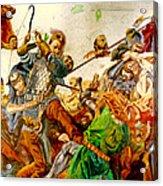 Battle Of Grunwald Acrylic Print