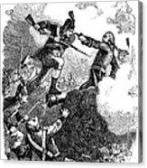Battle Of Stony Point, 1779 Acrylic Print by Granger