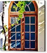 Bay Window Acrylic Print