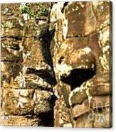 Bayon Faces - Angkor Wat - Cambodia Acrylic Print