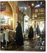 Bazaar Market In Isfahan Iran Acrylic Print