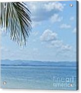 Beach Background Acrylic Print