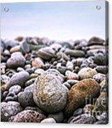 Beach Pebbles Acrylic Print