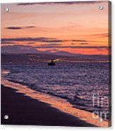 Beach Sunset Acrylic Print