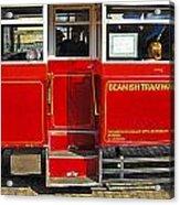 Beamish Tramways Acrylic Print