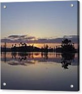 Beautiful Orlando Sunrise Acrylic Print