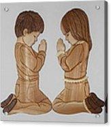 Bedtime Prayers Acrylic Print