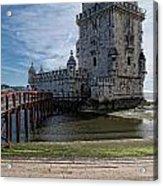 Belem Tower Acrylic Print