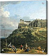 Bellotto's The Fortress Of Konigstein Acrylic Print