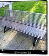 Bench 08 Acrylic Print