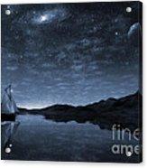 Beneath A Jewelled Sky Acrylic Print