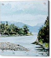Berks Lake Acrylic Print