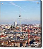 Berlin Cityscape Acrylic Print