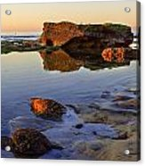 Bermuda Avenue Sunset Acrylic Print