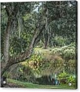 Beside The Pond Acrylic Print
