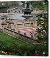 Bethesda Fountain - Central Park Nyc Acrylic Print